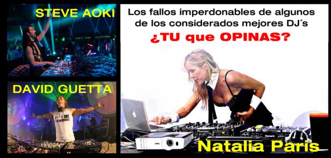 dj Steve Aoki, Natalia Paris, David Guetta